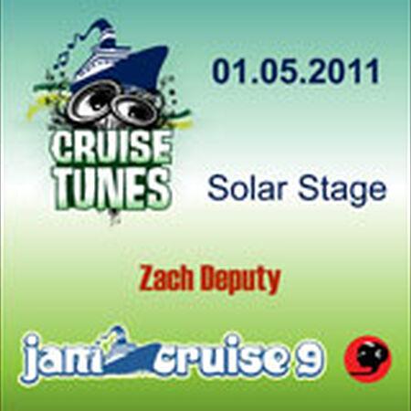 01/05/11 Solar Stage, Jam Cruise, US
