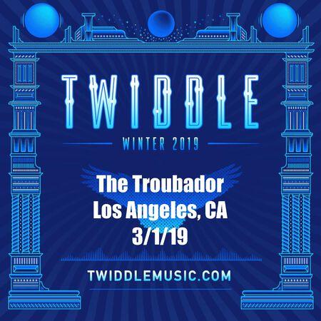 03/01/19 The Troubadour, Los Angeles, CA
