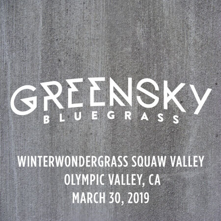 03/30/19 Winter Wondergrass, Squaw Valley, CA