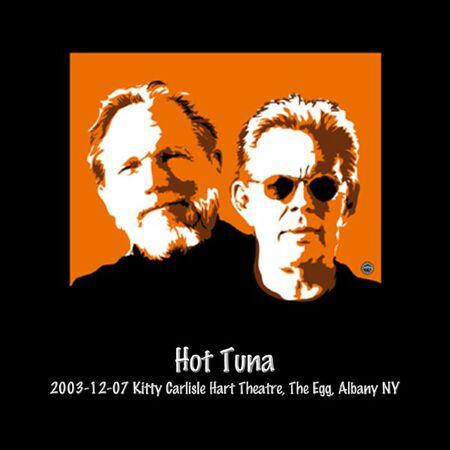 12/07/03 Kitty Carlisle Hart Theatre - The Egg, Albany, NY