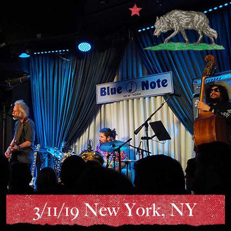 03/11/19 The Blue Note, New York, NY