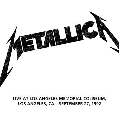 09/27/92 Los Angeles Memorial Coliseum, Los Angeles, CA