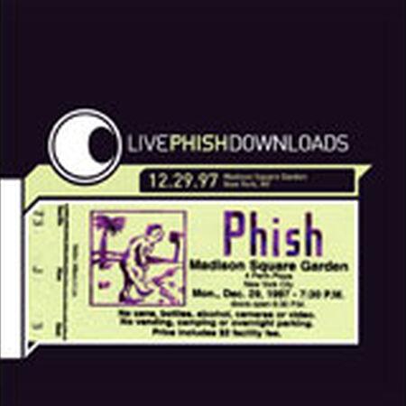12/29/97 Madison Square Garden, New York, NY