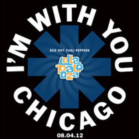 08/04/12 Lollapalooza, Chicago, IL