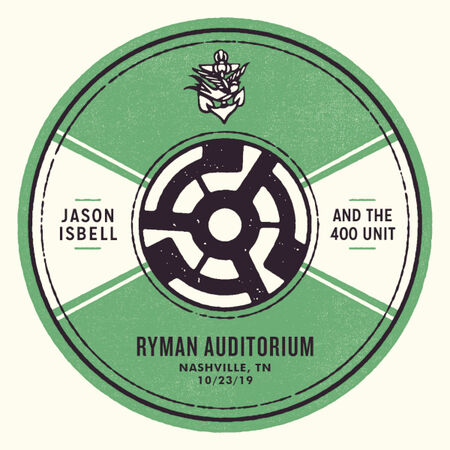 10/23/19 Ryman Auditorium, Nashville, TN