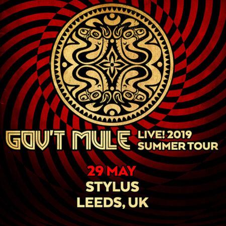 05/29/19 Stylus, Leeds, UK