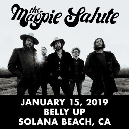 01/15/19 Belly Up, Solana Beach, CA