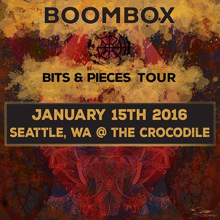 01/15/16 The Crocodile, Seattle, WA