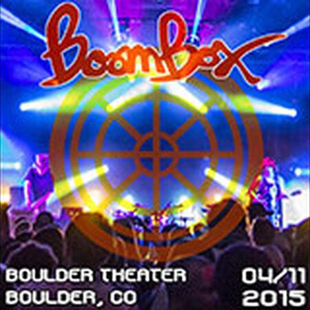 04/11/15 Boulder Theater, Boulder, CO