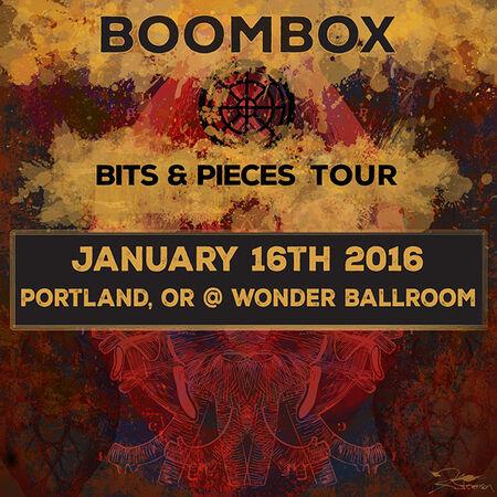 01/16/16 Wonder Ballroom, Portland, OR