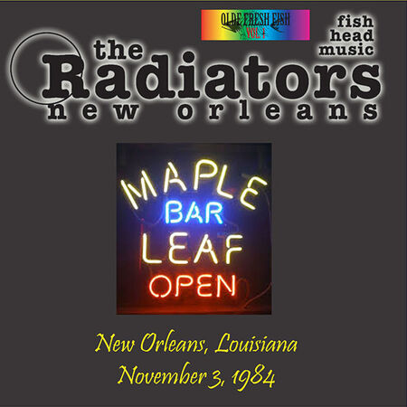 11/03/84 The Maple Leaf, New Orleans, LA