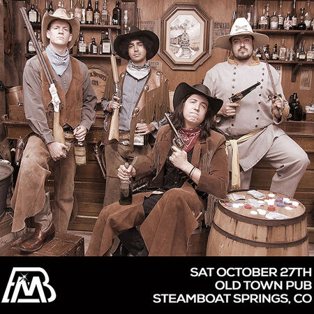 10/27/18 Old Town Pub, Steamboat Springs, CO