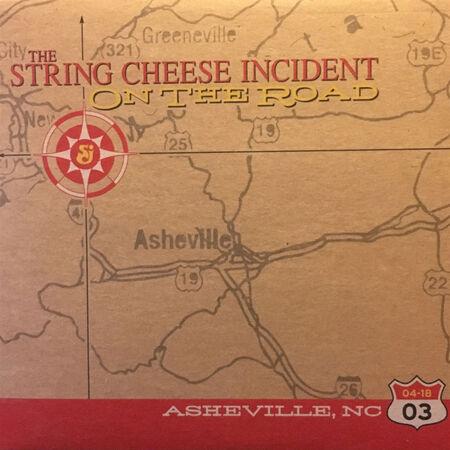 04/18/03 Asheville Civic Center, Asheville, NC