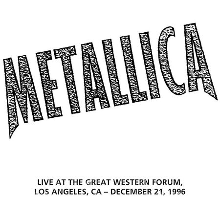 12/21/96 Great Western Forum, Los Angeles, CA