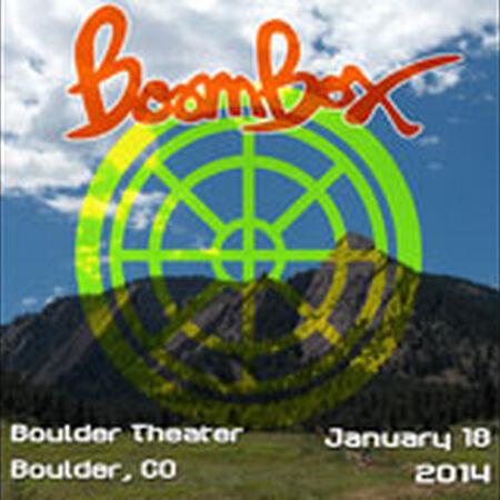 01/18/14 Boulder Theater, Boulder, CO