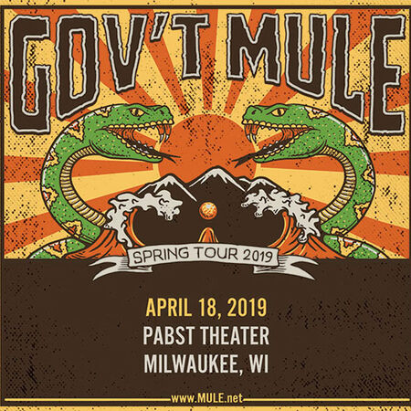 04/18/19 Pabst Theater, Milwaukee, WI