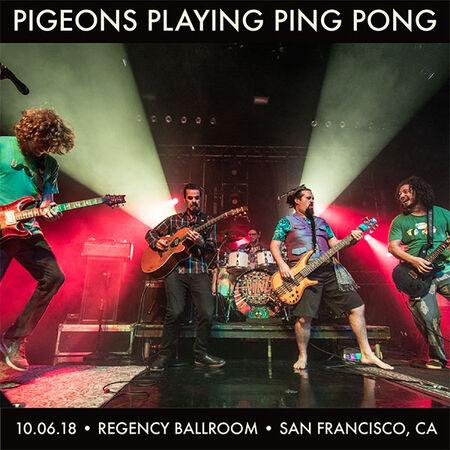 10/06/18 Regency Ballroom , San Francisco, CA