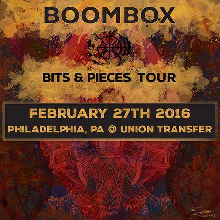 02/27/16 Union Transfer, Philadelphia, PA