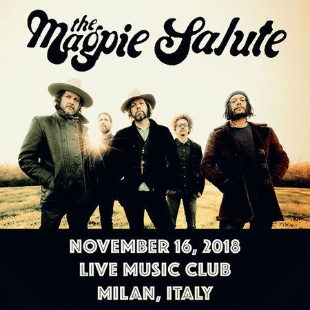 11/16/18 Live Music Club, Milan, IT