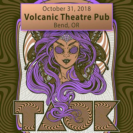 10/31/18 Volcanic Theatre Pub, Bend, OR