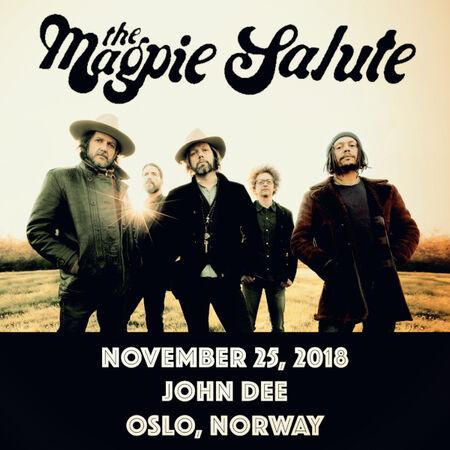 11/25/18 John Dee, Oslo, NO