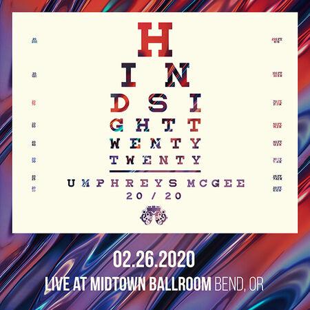 02/26/20 Midtown Ballroom, Bend, OR