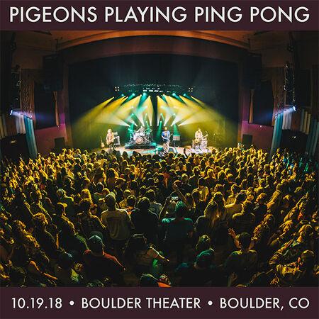 10/19/18 Boulder Theater, Boulder, CO