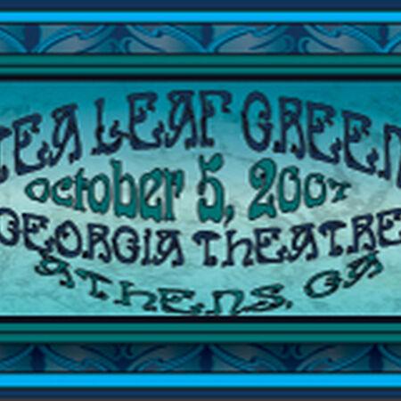 10/05/07 The Georgia Theater, Athens, GA