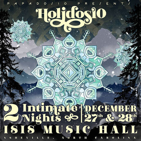 12/28/19 Isis Music Hall, Asheville, NC