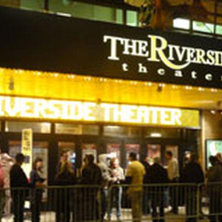 10/20/11 Riverside Theater, Milwaukee, WI