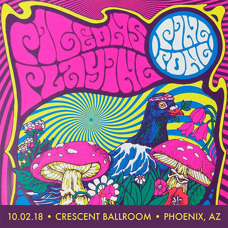 10/02/18 Crescent Ballroom, Phoenix, AZ