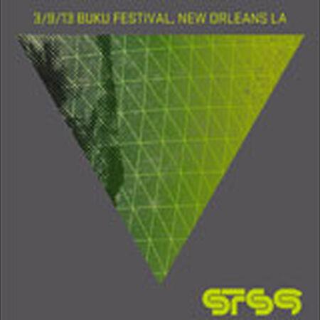 03/09/13 BUKU Music and Arts Project, New Orleans, LA