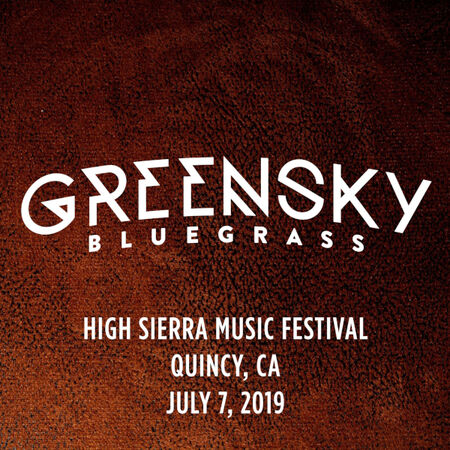 07/07/19 High Sierra Music Festival, Quincy, CA