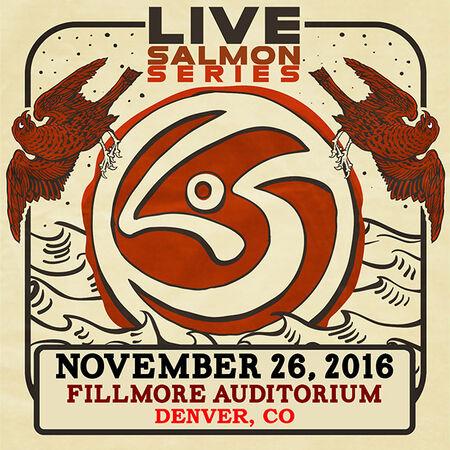 11/26/16 The Fillmore, Denver, CO