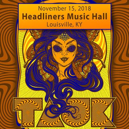 11/15/18 Headliners Music Hall, Louisville, KY