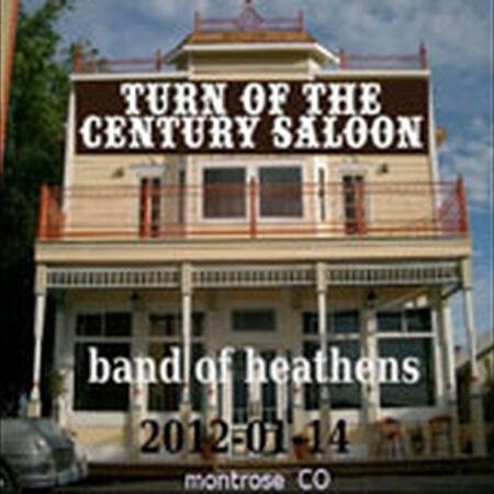 01/14/12 Turn Of The Century Saloon, Montrose, CO