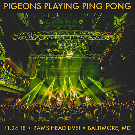 11/24/18 Rams Head Live, Baltimore, MD