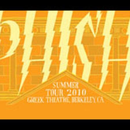 08/07/10 Greek Theatre, Berkeley, CA