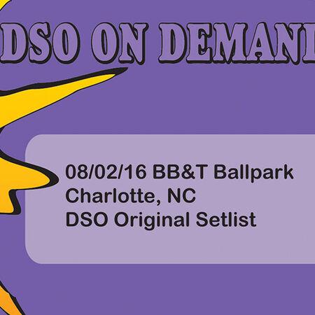 08/02/16 BB and T Ballpark, Charlotte, NC