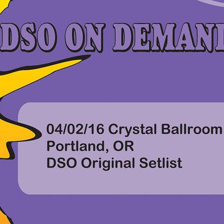 04/02/16 Crystal Ballroom, Portland, OR