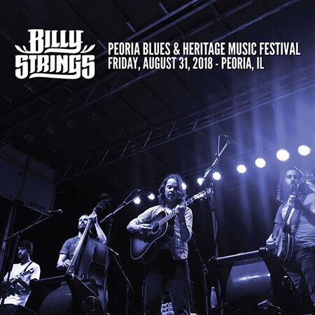 08/31/18 Peoria Blues & Heritage Music Festival, Peoria, IL