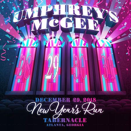12/29/18 The Tabernacle, Atlanta, GA
