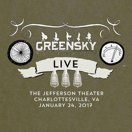 01/24/17 Jefferson Theater, Charlottesville, VA