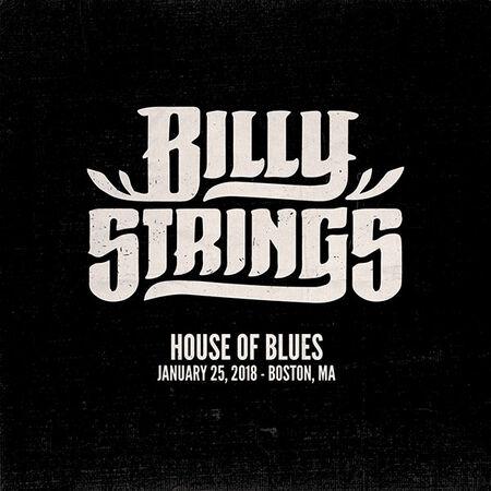 01/25/18 House of Blues, Boston, MA
