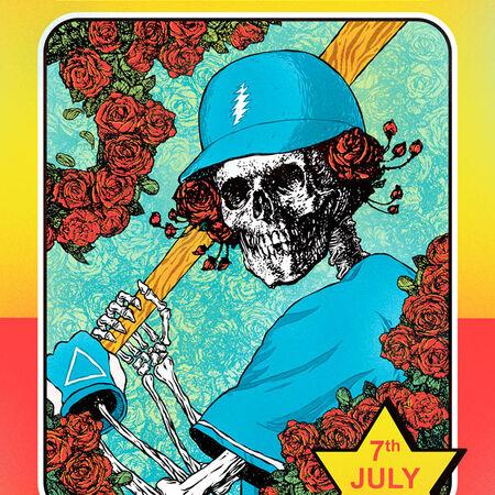 07/07/18 Dodger Stadium, Los Angeles,  CA