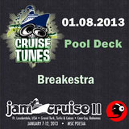 01/08/13 Pool Deck, Jam Cruise, US