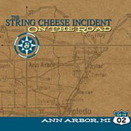 04/14/02  Hill Auditorium, Ann Arbor, MI