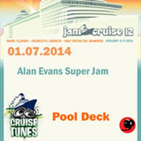 01/07/14 Pool Deck, Jam Cruise, US