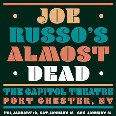 01/13/18 The Capitol Theatre, Port Chester, NY