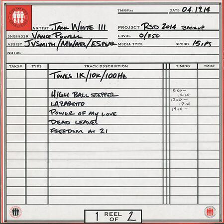 04/19/14 Third Man Records, Nashville, TN